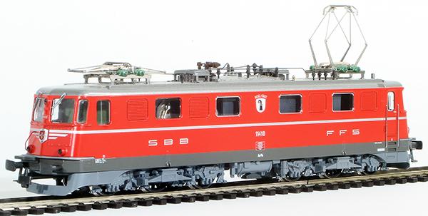 Consignment HAG129 - Hag Swiss Electric Class Ae 6/6 of the SBB Kanton Basel (Hag Factory Digital Model)