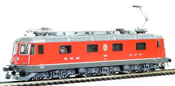 Consignment HAG204 - HAG Swiss Electric Class Re 6/6 of the SBB Kanton Murten (Hag Factory Digital Model)