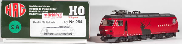 Consignment HAG264 - HAG 264 Swiss Electric Locomotive Re 4/4 Sihltalbahn