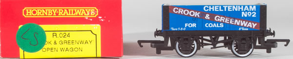 Consignment HR024 - Hornby 024 Crook and Greenway Open Wagon