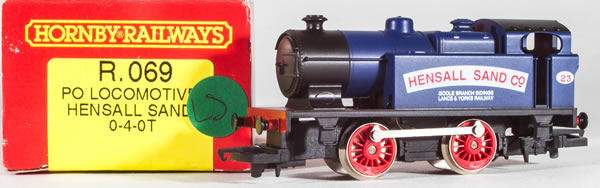 Consignment HR069 - Hornby 069 Hensall Sand Company 0-4-0T Steam Locomotive