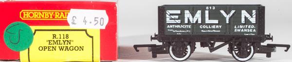 Consignment HR118 - Hornby 118 Emlyn Open Wagon