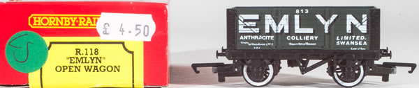 Consignment HR118 - Hornby 118 Emlyn Open Wagon
