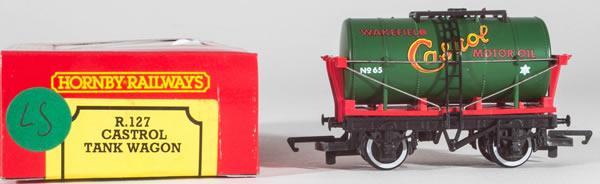 Consignment HR127 - Hornby 127 Castrol Tank Wagon