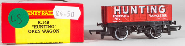 Consignment HR149 - Hornby 149 Hunting Open Wagon