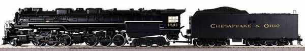 Consignment HR2051 - Rivarossi HR2051 USA Steam Locomotive Allegheny of the Chesapeake & Ohio (DCC Sound Decoder)