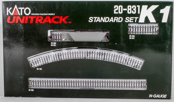 Consignment K20831 - Kato 20831 Standard Track Set - Oval