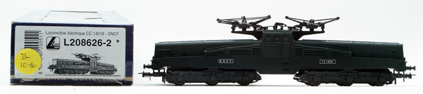 Consignment L208626-2 - Lima 208626-2 French Electric Locomotive CC 14018 of the SNCF