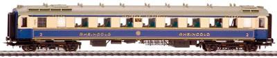 Consignment LI382503 - Rheingold Saloon Coach 2nd Class DRG  EP II