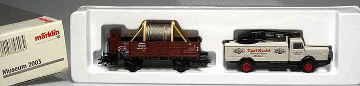 Consignment MA2003 - Marklin Museum Vehicle Set