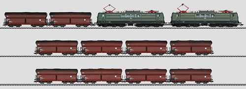 Consignment MA26593 - Marklin German Heavy Coal Train of the DB (Sound)