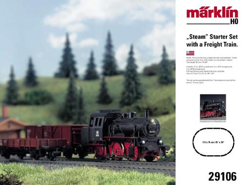 Consignment MA29106 - Marklin 29106 - BASIC FREIGHT STARTER SET 07BASIC FREIGHT STARTER SET 07