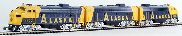 Consignment MA3462 - Marklin 3462 USA Diesel Locomotive EMD F7 ALASKA