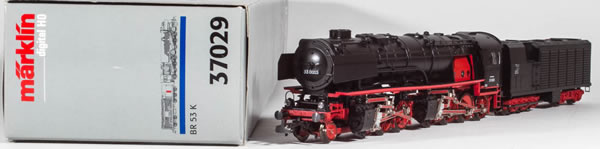 Consignment MA37029 - Marklin 37029 German Steam Cut Away Digital Display Locomotive of the DRG