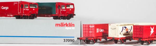Consignment MA37090 - Marklin 37090 5pc Cargo Sprinter Set (Digital)