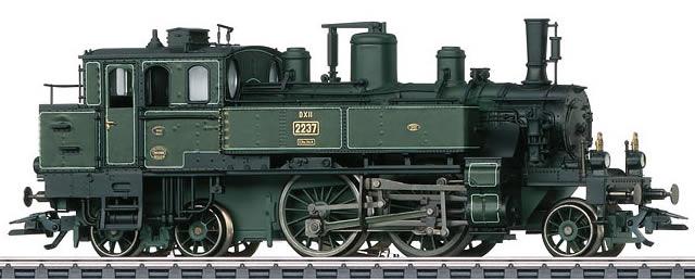 Consignment MA37139 - Marklin 37139 - German Steam Locomotive Class DXII of the Bavarian State Railroads (Sound Decoder)