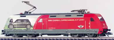Consignment MA37396 - Class 101 Electric Locomotive with Mini Cooper Ad