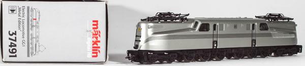 Consignment MA37491 - Marklin 37491 - Electric Locomotive GG1 DE (Sound)
