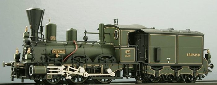 Consignment MA3797 - Marklin 3797 HO Steam Locomotive Bavarian Series B