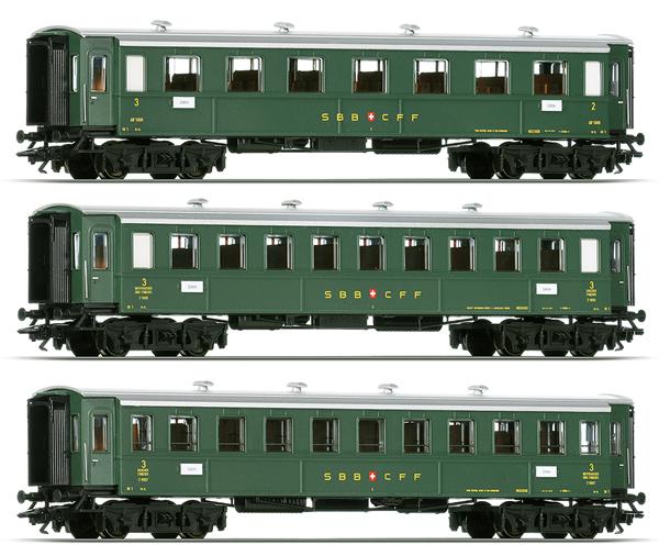 Consignment MA42385 - Marklin 42385 Wagen Set - 3 Express Train Passenger Cars