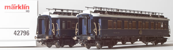 Consignment MA42796 - Marklin 42796 2pc French Add-on Orient Express 1928 Set of the CIWL