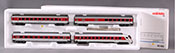 Consignment MA43302 - Marklin 43302 4pc Intercity Passenger Coach Set (L) 98
