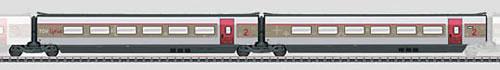 Consignment MA43432 - Marklin 43432 Add-On Car Set 2 for the TGV Lyria