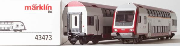 Consignment MA43473 - Marklin 43473 CFL Commuter 2-Car Set (L)
