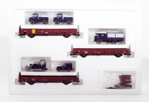 Consignment MA4508 - Marklin Limited Vedes Technical Vehicle Transport Set
