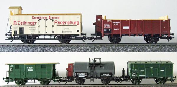 Consignment MA4510 - Marklin 4510 Wagen-Set Wurttemberg