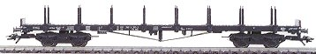 Consignment MA4663 - FLAT CAR W/STAKES  DB