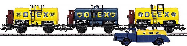 Consignment MA46751 - Marklin 46751 OLEX Tank Car Set