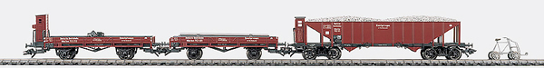 Consignment MA47901 - Marklin 47901 - Track Maintenance Train Car Set