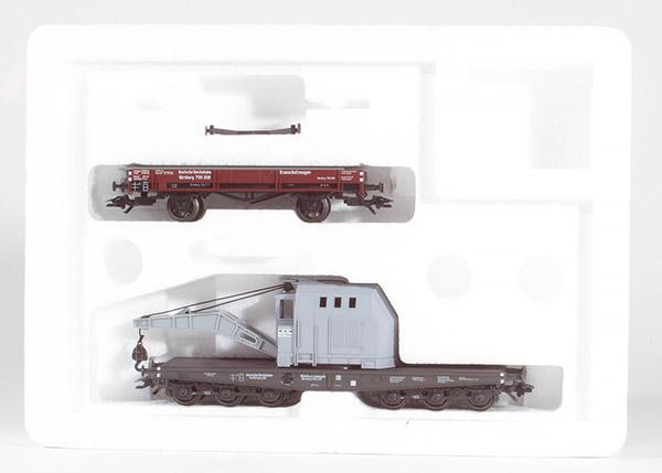Consignment MA48674 - Marklin 48674 - Crane Wagen Set