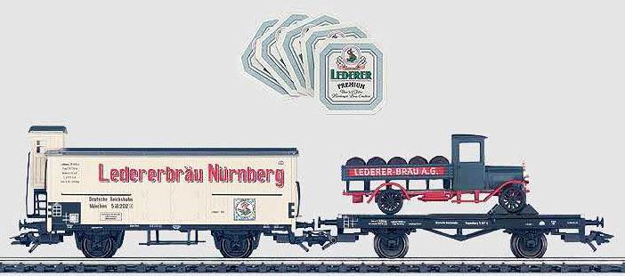 Consignment MA48792 - Marklin 48792 Beer Transport Car Set