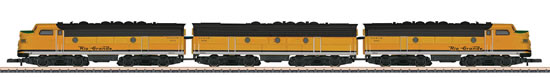 Consignment MA88198 - American Diesel-Electric Locomotive as a Three-Unit Combination