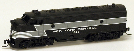 Consignment MT14003 - Micro Trains 14003 USA Diesel Locomotive F7 of the NYC