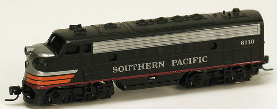 Consignment MT14004 - Micro Trains 14004 USA Diesel Locomotive F7 of the SP