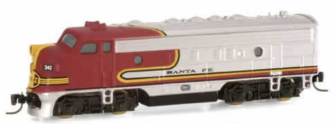 Consignment MT14007 - Micro Trains 14007 USA Diesel Locomotive F7 A-Unit of the Santa Fe