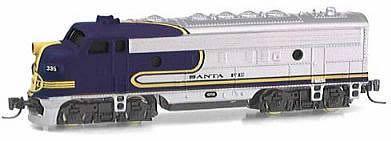 Consignment MT14010 - Micro Trains 14010 USA Diesel Locomotive F7 A-Unit of the Santa Fe – 335