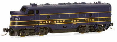 Consignment MT14013-2 - Micro Trains 14013-2 USA Diesel Locomotive F7 A-Unit of the B&O – 4471