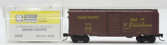 Consignment MT14145 - Micro Trains 14145 40 Standard Box Car of the Union Pacific – 193450
