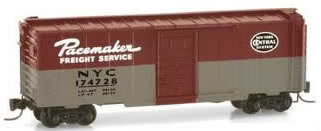 Consignment MT14149-2 - Micro Trains 14149-2 40 Standard Box Car of the N.Y.C. - 174728