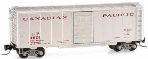Consignment MT14150-2 - Micro Trains 14150-2 40 Standard Box Car of the Canadian Pacific – 4901