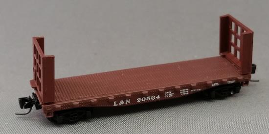 Consignment MT14603 - Micro Trains 14603 Bulkhead Flat Car L & N