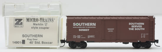 Consignment MT14901 - Micro Trains 14901 40 Standard Box Car of the Southern