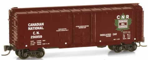 Consignment MT14908-2 - Micro Trains 14908-2 40 Standard Box Car of the Canadian National – 290159