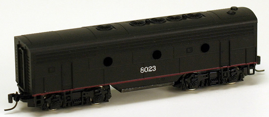Consignment MT17004-2 - Micro Trains 17004-2 USA F7 Dummy B Unit of the SP – 8023