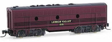 Consignment MT17005-2 - Micro Trains 17005-2 USA F7 Dummy Locomotive B Unit of the Lehigh Valley – 515