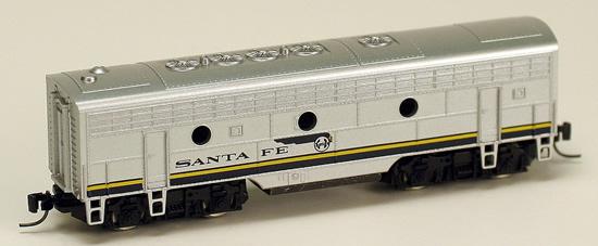 Consignment MT17010-2 - Micro Trains 17010-2 USA F7 Dummy B Unit of the Santa Fe